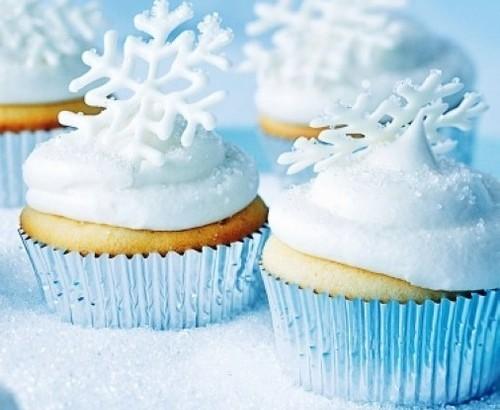 Cocina para ni os cupcakes de nieve mamalua - Cocina sana para ninos ...