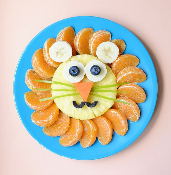Frutas para niños - Macedonia