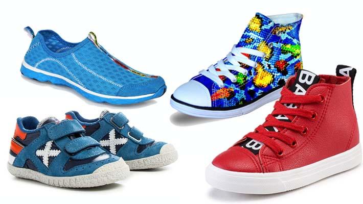 tendencias de calzado infantil para el verano