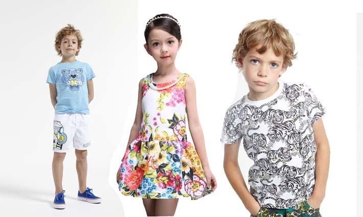 Moda infantil para niños y niñas
