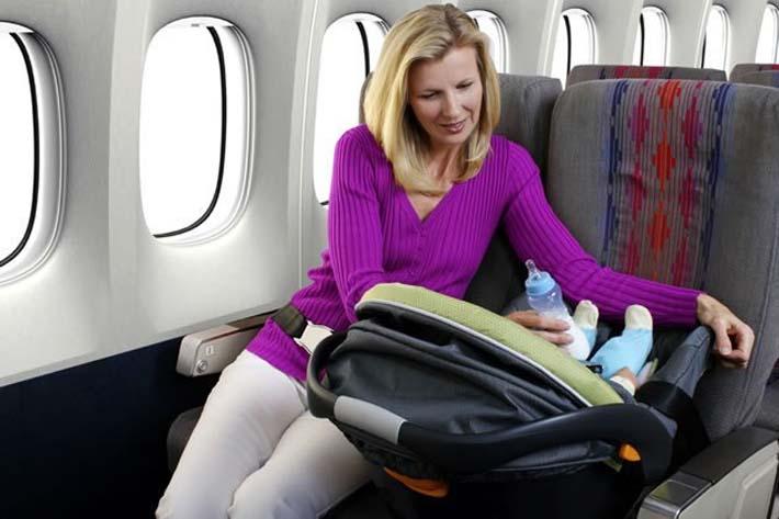 Consejos para volar con niños o bebés