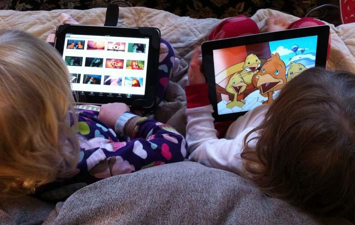Niños, tablets y aplicaciones