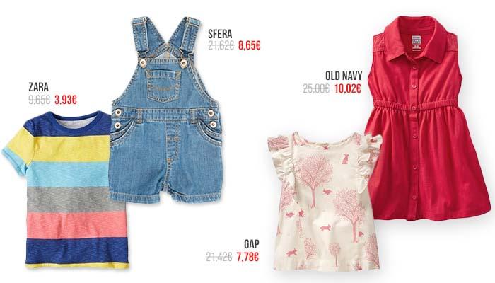 Percentil, ropa para niños