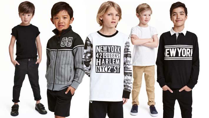 Moda para niños de H&M