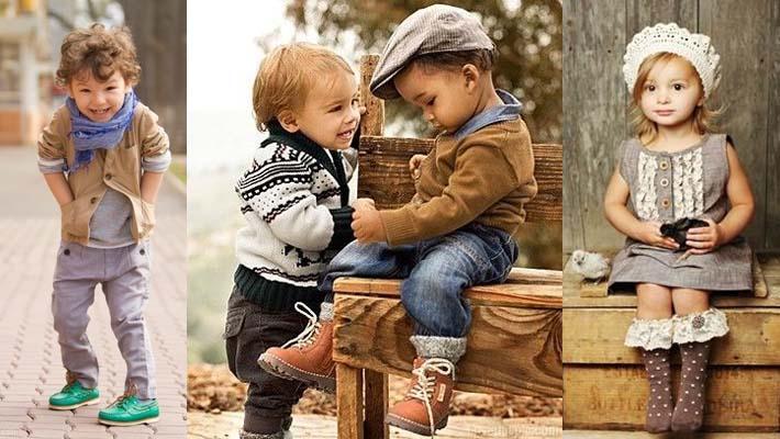Moda para ni os para la temporada de oto o invierno embarazo beb s y ser padres mamalua - La moda de otono ...