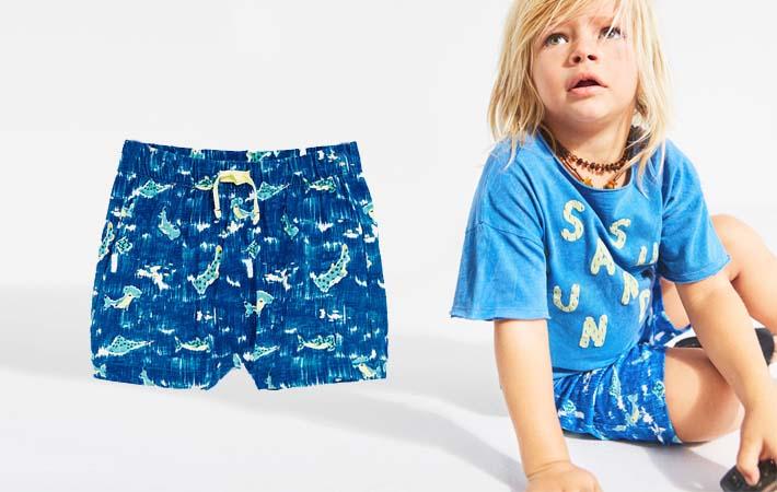Bañador para niño pequeño de Zara Kids