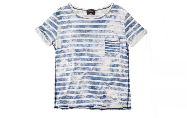 camiseta listada rebajas verano 2017 tocoto vintage