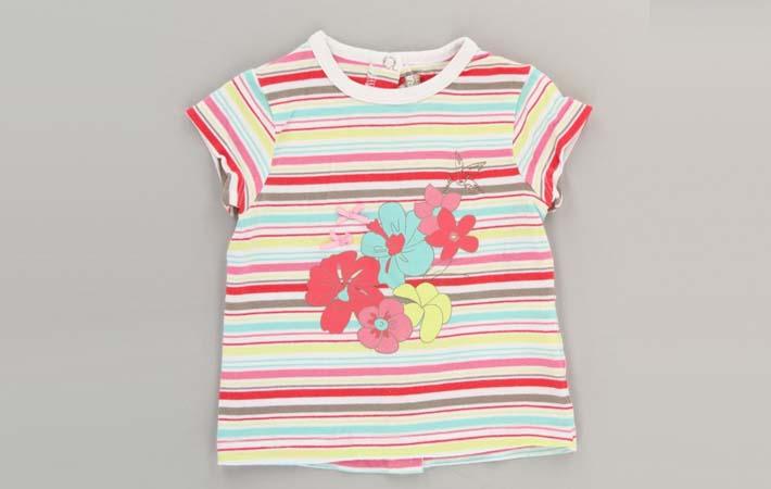 Camiseta niña rebajas verano 2017 percentil