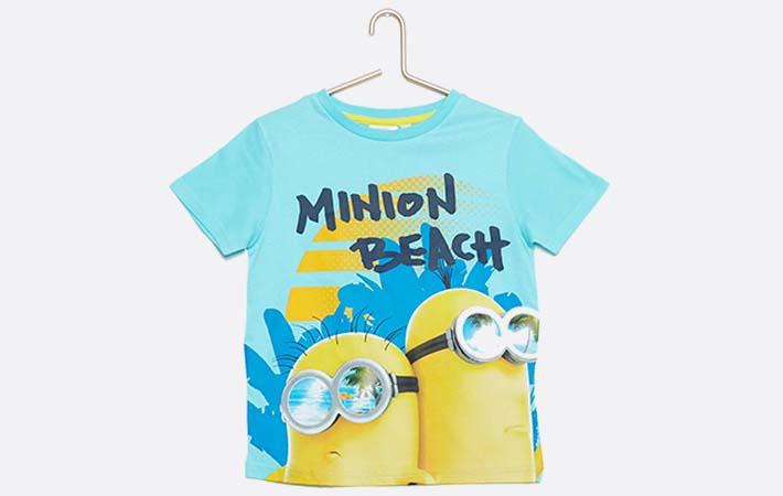 Camiseta niño rebajas verano 2017 Kiabi