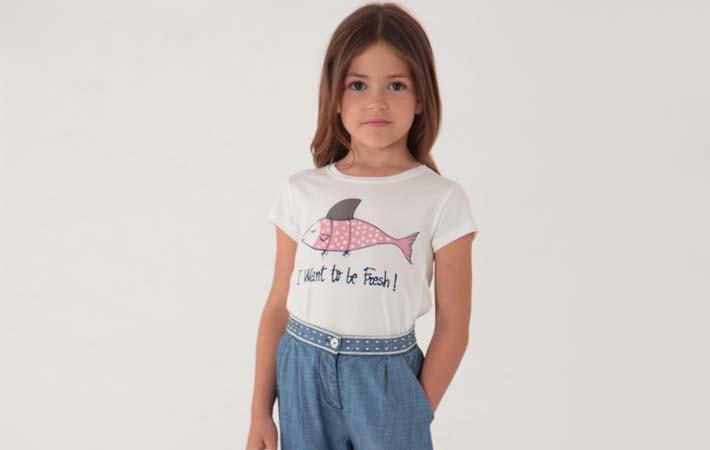 Camiseta para niña rebajas verano 2017 Nice Things