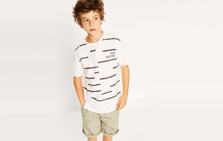 Camiseta de verano para niño de Zara Kids