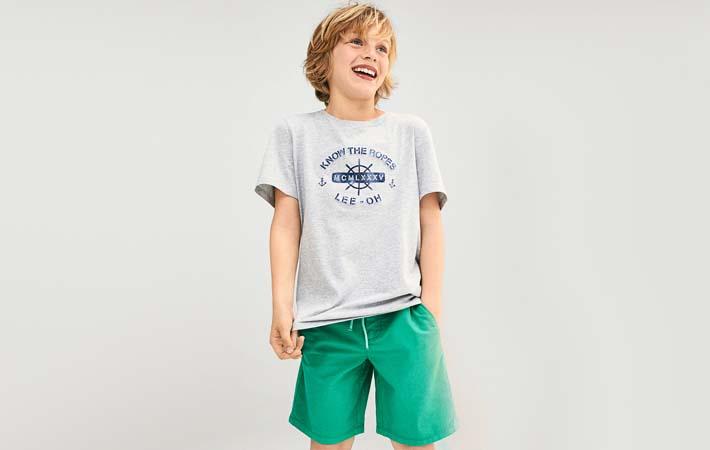 Pantalón corto de niño rebajas verano 2017 Massimo Dutti Kids