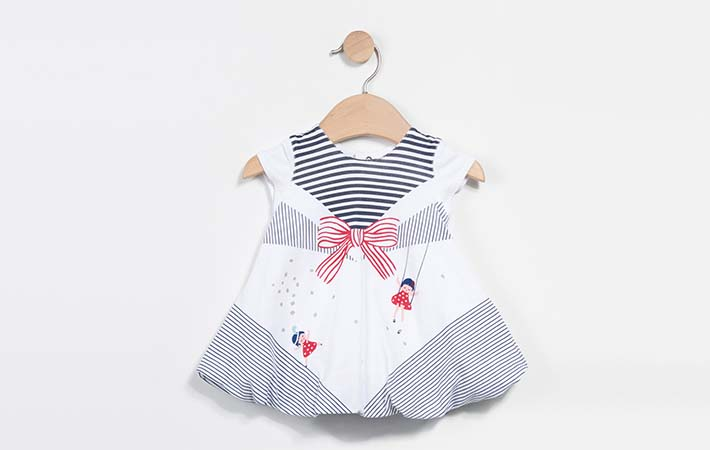 vestido para bebé rebajas verano 2017 Catimini