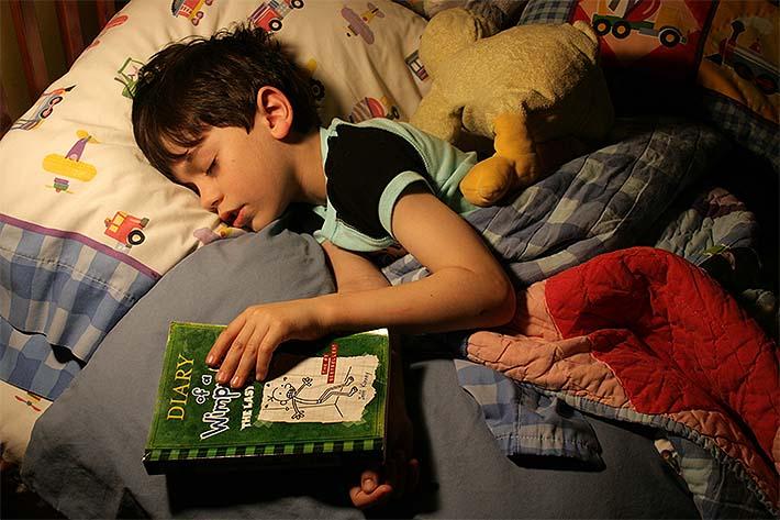 niño y su lectura
