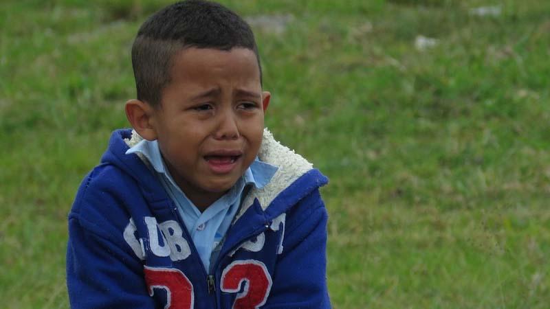 niños y el miedo a los extraños