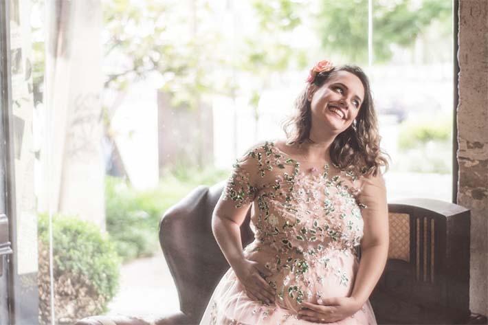 mujer en estado de embarazo
