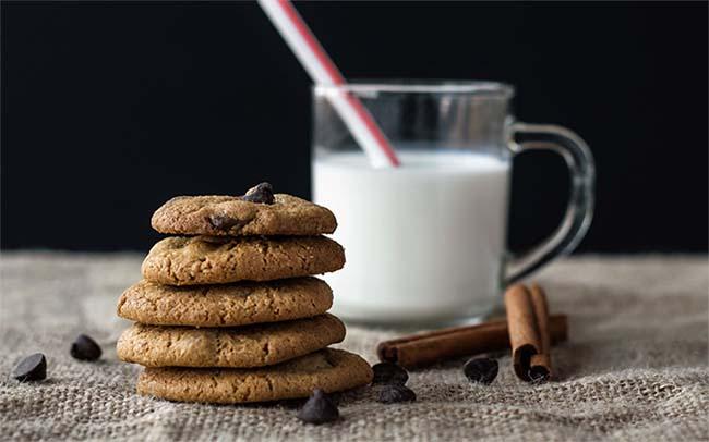 horchata con galletas
