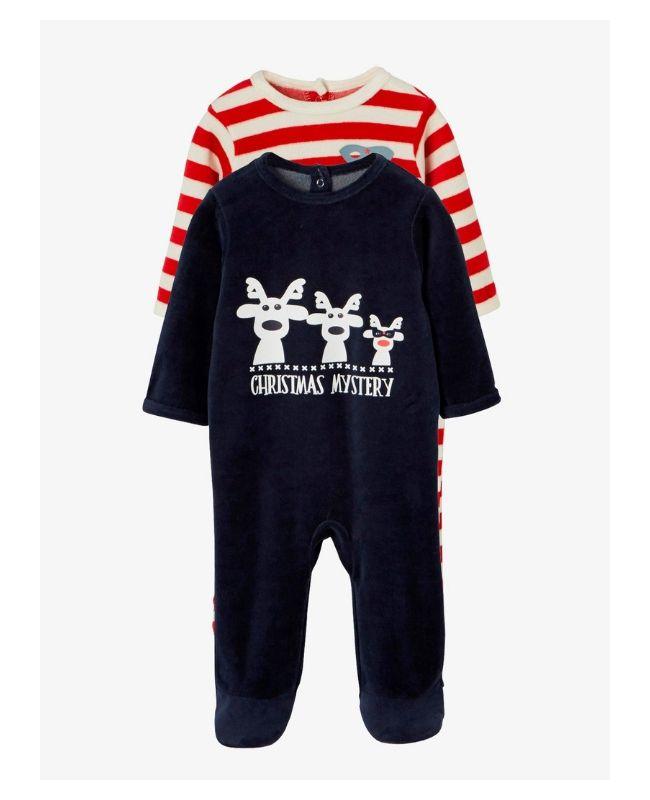 pijama navideña para bebé