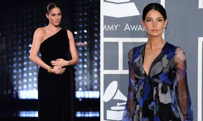 9557c0e2e Los mejores vestidos de fiesta de las famosas embarazadas que darán a luz  en 2019