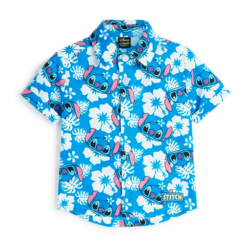 camisa de bebé stitch