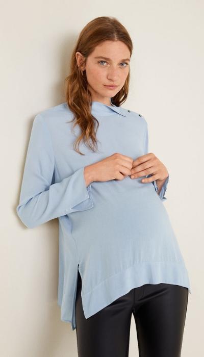 jersey azul cielo ropa emabarazo
