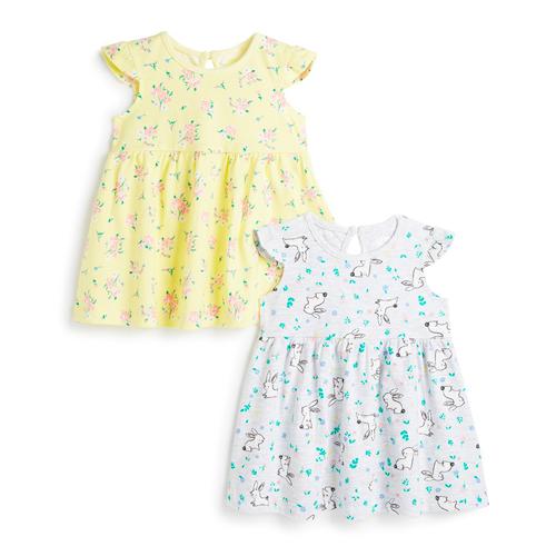 vestidos de bebé primark 2019